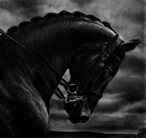 Robert LONGO - Grabado - Bucephalus