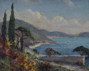 Garstin COX, Baie méditéranéenne