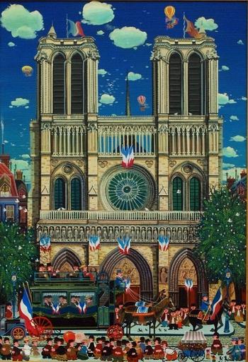 Hiro YAMAGATA - Gemälde - Notre Dame de Paris