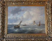 Jan Evert II MOREL - Pintura - Marine