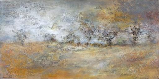 Emmanuelle VROELANT - Painting - BORD DE ROUTE