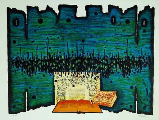 Moshé Elazar CASTEL - Print-Multiple - Prayer