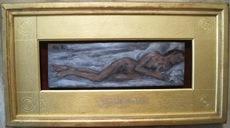 Mikhail LARIONOV - Painting - Reclining Nude