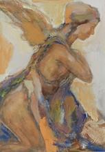 Ludmilla MOSHEK - Painting - Prière