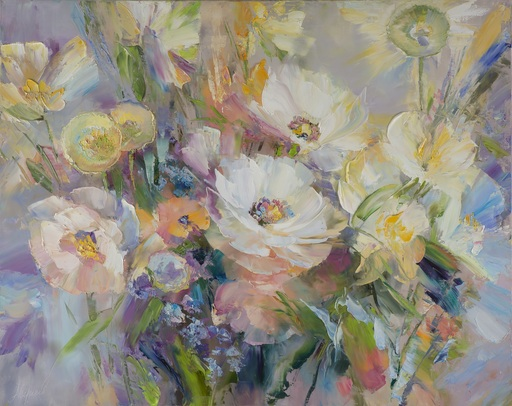 Alexander SERGEEV - Painting - Flowers of Sofia