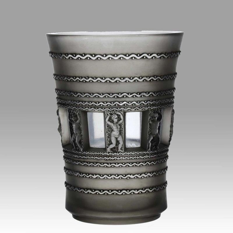 René LALIQUE - Florence Vase