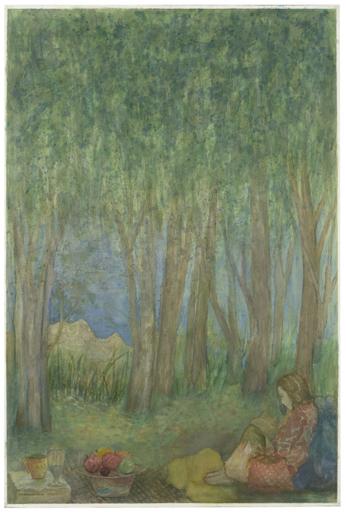 Elie ABRAHAMI - Disegno Acquarello - Summerday II