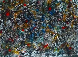 Didier ANGELS - Peinture - Tumulte 2/3 3% 2013