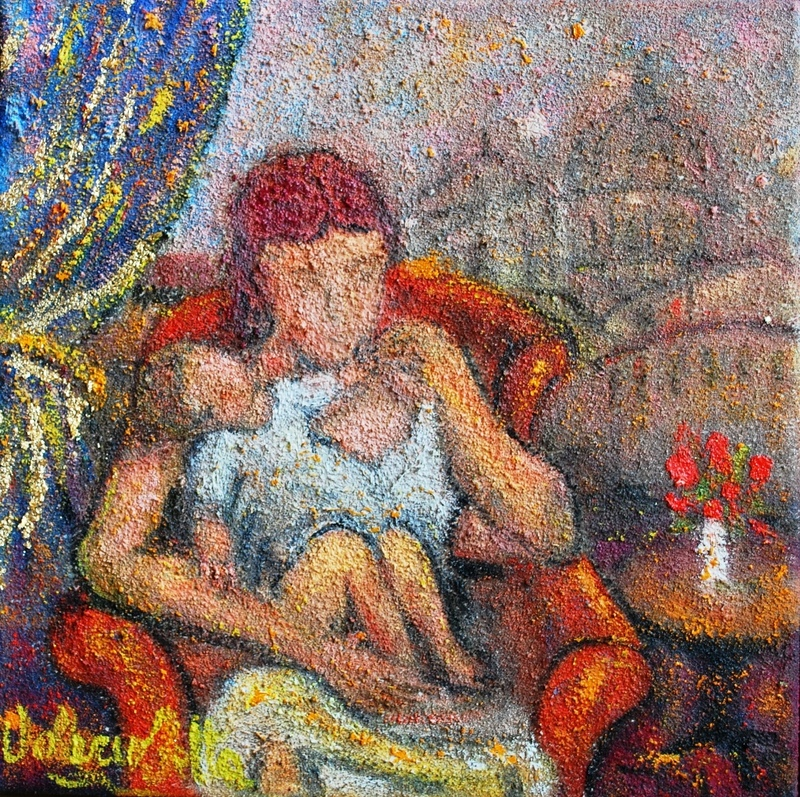 Valerio BETTA - Pintura - Maternità 3