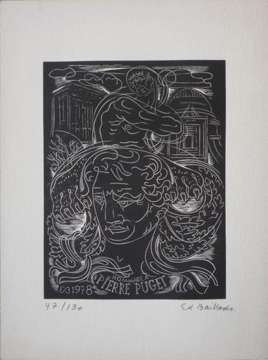 Edouard BAILLODS - Print-Multiple - hommage a pierre puget 1978