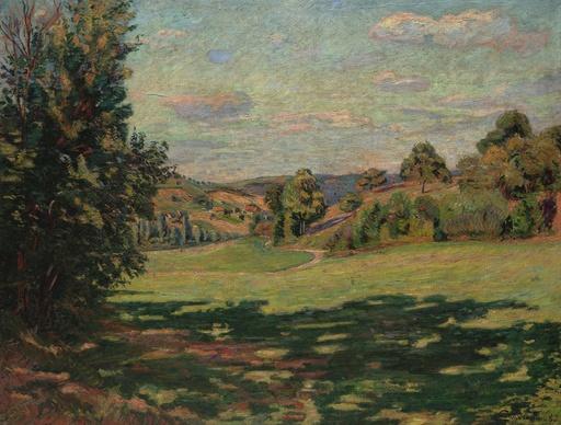 Armand GUILLAUMIN - Pintura - Village sur le coteau, Vallée de Chevreuse
