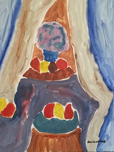 Christian DURIAUD - Pintura - 9 fruits