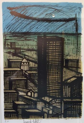 Bernard BUFFET - Print-Multiple - Le grand building à Tokyo -