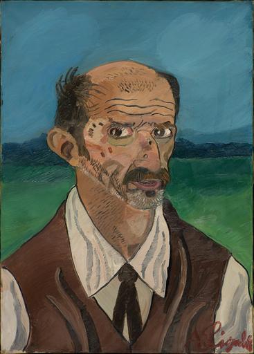 Antonio LIGABUE - Gemälde - Autoritratto