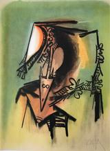 维夫里多•拉姆 - 版画 - le Masque