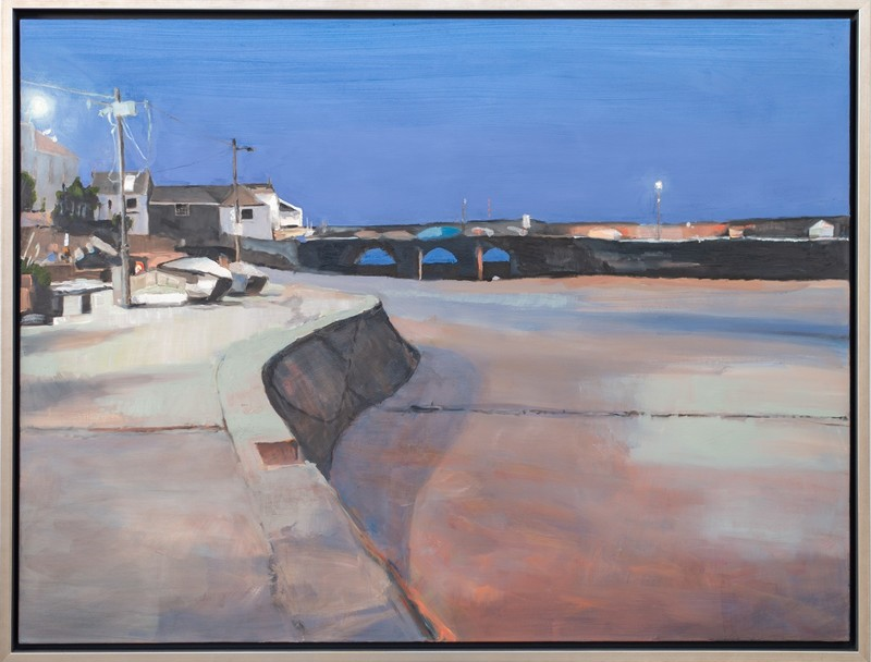 Simon ANDREW - Painting - St Ives Harbour