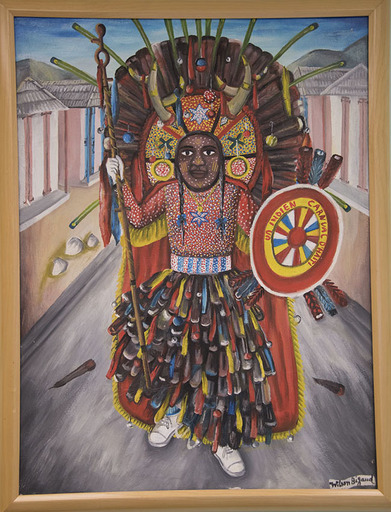 Wilson BIGAUD - 绘画 - Indian/Carnival