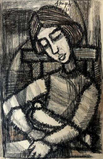 Georges ADINGRA - Drawing-Watercolor