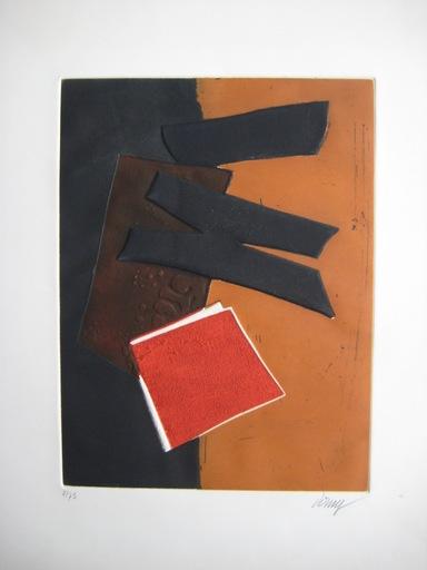 Bertrand DORNY - Estampe-Multiple - GRAVURE SIGNÉE AU CRAYON NUM/75 HANDSIGNED NUMB/75 ETCHING