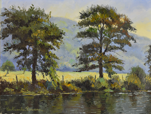 Paul Émile PISSARRO - Painting - L'Orne en Septembre