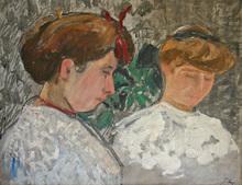 Jean PUY - Painting - Les deux soeurs