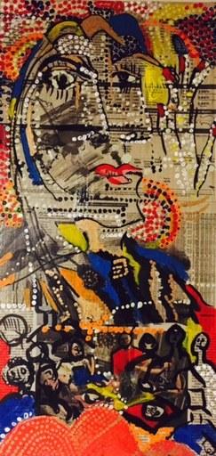 Greta CHAPIN-MCGILL - Dessin-Aquarelle - Material Girl