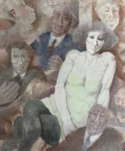 Remo SQUILLANTINI - Pintura - Figure