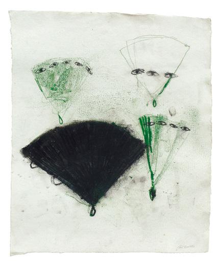 Piero PIZZI CANNELLA - Drawing-Watercolor - Ventaglio