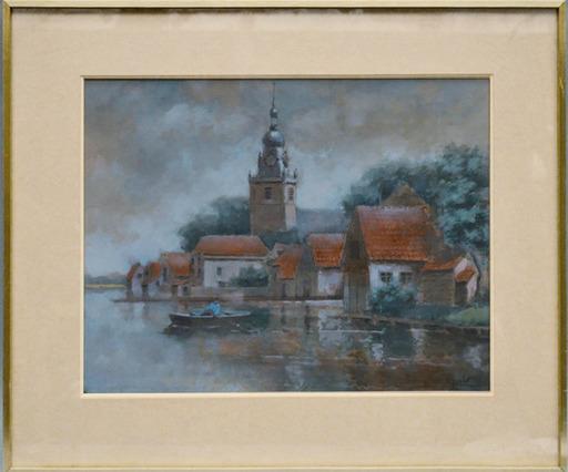 Henri JANLET - Drawing-Watercolor