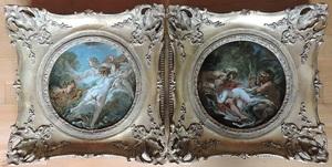 François BOUCHER - Peinture - Pan et Syrinx