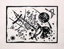 瓦西里•康定斯基 - 版画 - Untitled (From Ganymed-Mappe Portfolio)