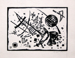 Wassily KANDINSKY - Stampa-Multiplo - Untitled (From Ganymed-Mappe Portfolio)