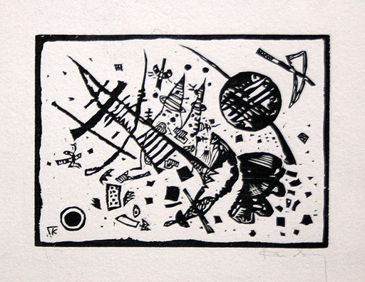 Wassily KANDINSKY - Print-Multiple - Untitled (From Ganymed-Mappe Portfolio)