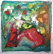 Bernard MOREL - Pintura - FLEURS