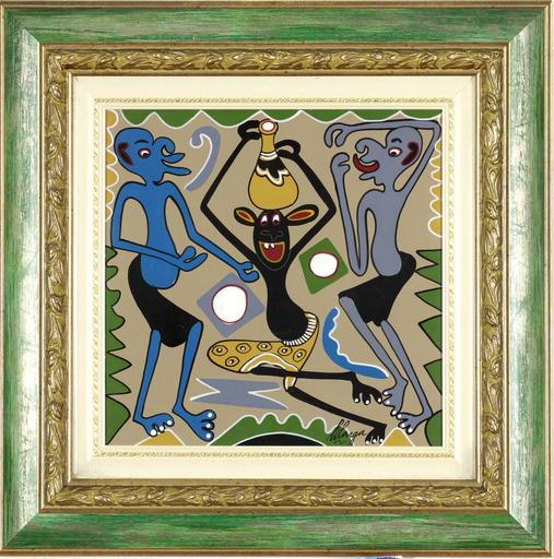 George LILANGA - Painting - Leo sijacho ka sana kama jana