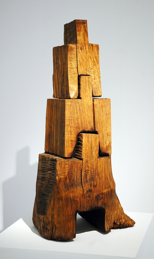 David NASH - Sculpture-Volume - Tongue and Groove Stove