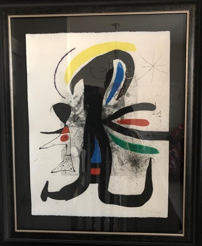 Joan MIRO - Print-Multiple - Une Telle Et Son Petit Mari