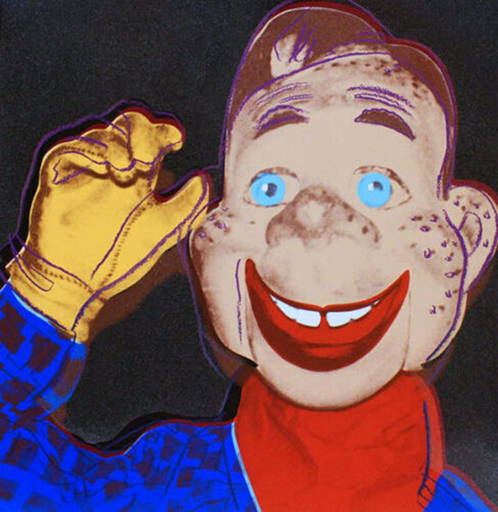 Andy WARHOL - Stampa Multiplo - Howdy Doody
