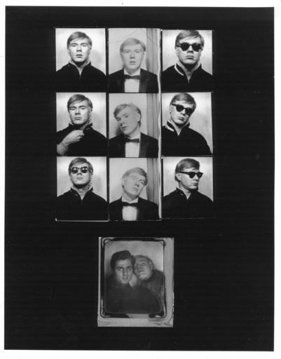 Gérard MALANGA - Photography - Andy Warhol photobooth assemblage