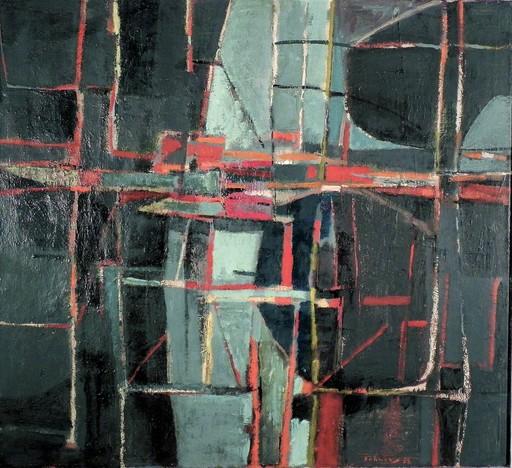 Karl Fred DAHMEN - 绘画 - OHNE TITEL - 1953