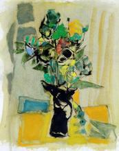 Freddy DEFOSSEZ - Drawing-Watercolor - fleurs