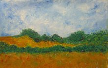Patricia ABRAMOVICH - Gemälde - Silent Field