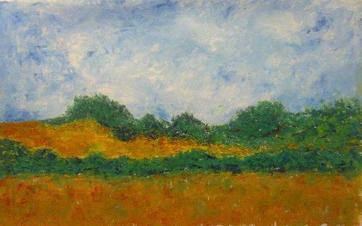 Patricia ABRAMOVICH - Pittura - Silent Field