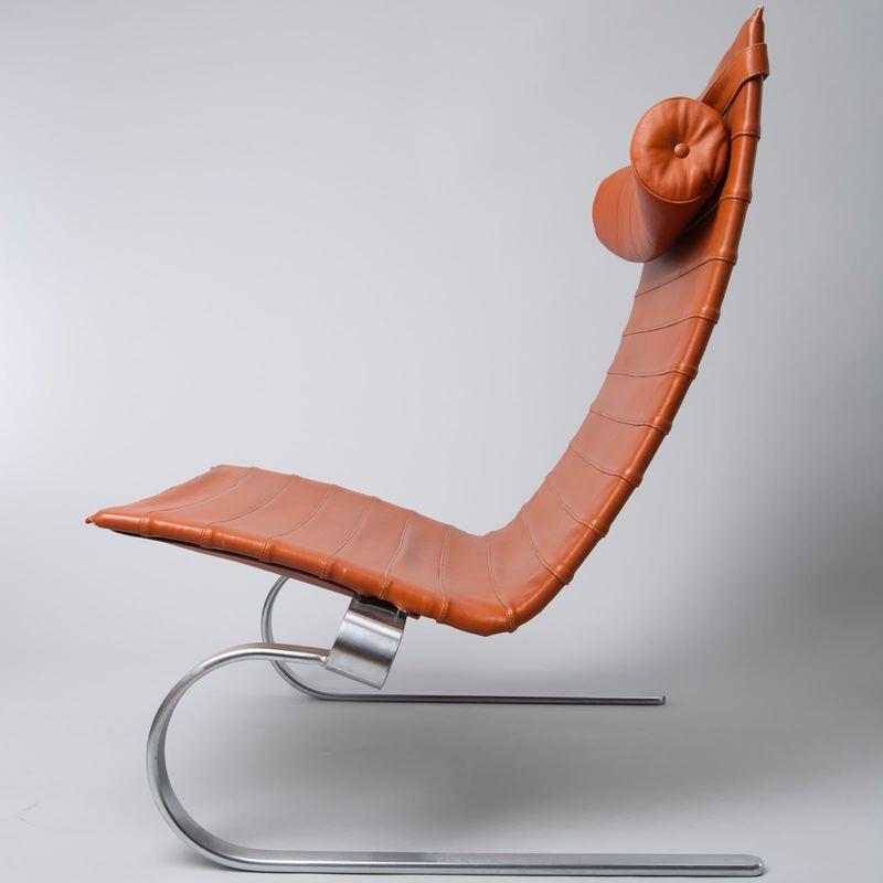 Poul KJAERHOLM - Escultura - Lounge Chair PK 20