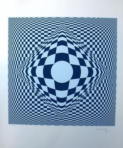Victor VASARELY - Estampe-Multiple - Untitled #2