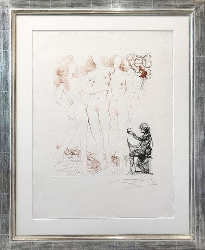 Salvador DALI - Print-Multiple - Le jugement de Paris - The Jugdment of Paris