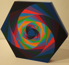 Victor VASARELY - Sculpture-Volume - tsillag
