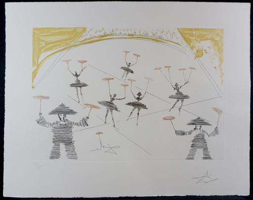Salvador DALI - Druckgrafik-Multiple - Le Cirque Chinois