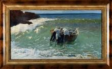 Feliks Michal WYGRZYWALSKI - Pintura - Fishermen