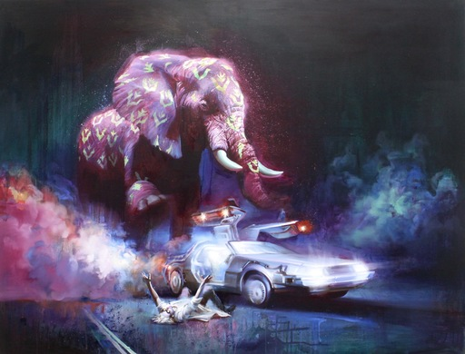 Anna SELINA - Pittura - Back to the Future